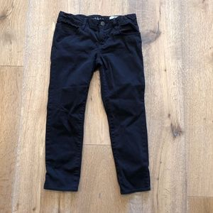 Gap Kids Super Skinny Black Denim Jeans